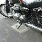 バイク専用スタンド